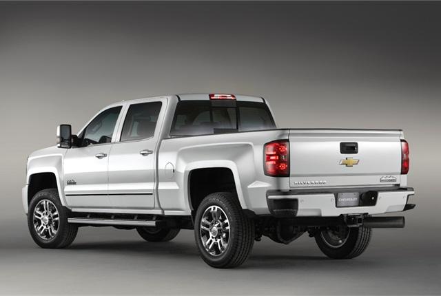 Photo of 2015 Chevrolet Silverado 2500 HD truck courtesy of General Motors.