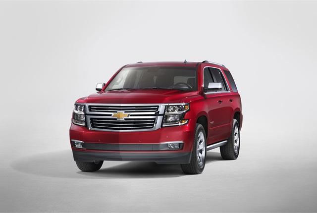 The 2015 Chevrolet Tahoe. Photo courtesy GM.