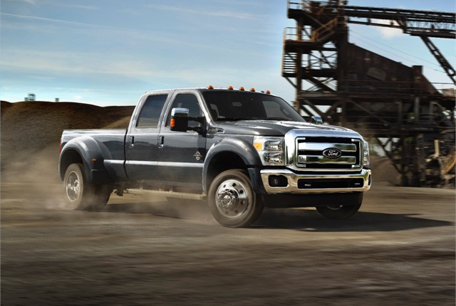 2015 Ford F-Series Super Duty truck photo courtesy of Ford Motor Co.