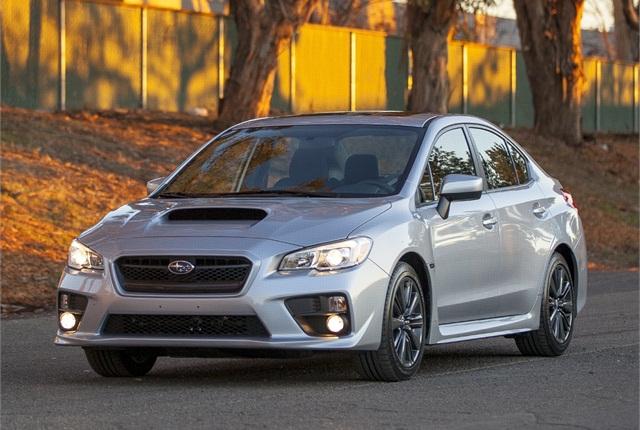 Photo of 2015 Subaru WRX courtesy of Subaru.