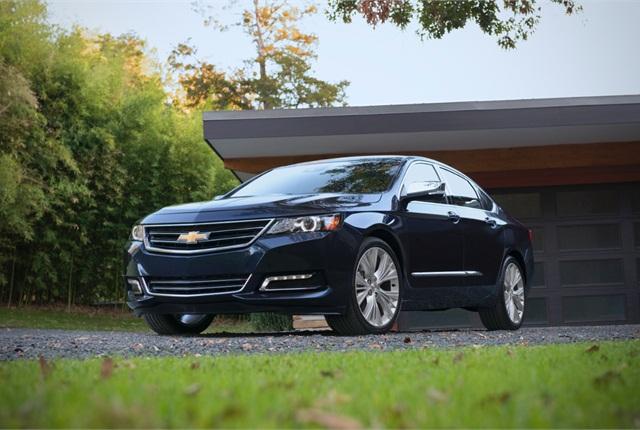 Photo of 2015 Chevrolet Impala courtesy of General Motors.
