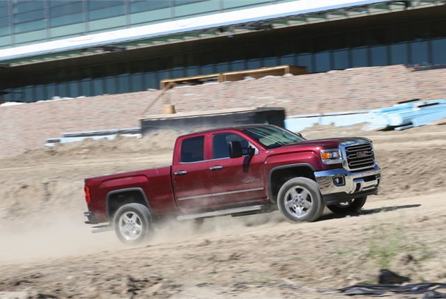 Photo of 2015 Sierra HD truck courtesy of General Motors.