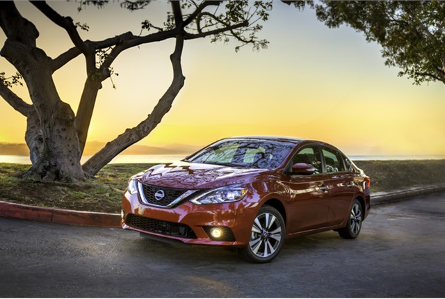 Photo of Nissan Sentra courtesy of Nissan.