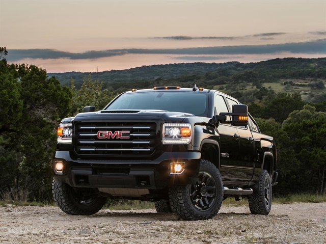 Photo of the Sierra 2500HD All Terrain X courtesy of GMC.