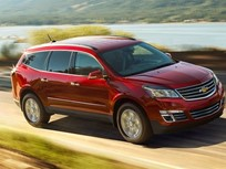 Chevrolet Traverse Clocks Fastest SUV Order-to-Delivery for 2017