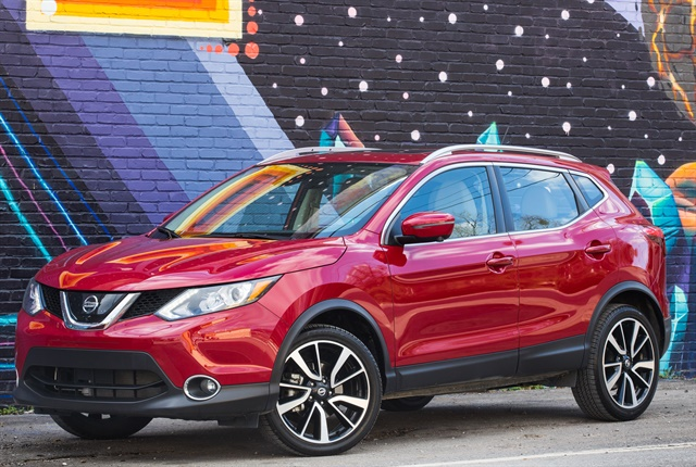 Photo of Rogue Sport courtesy of Nissan.