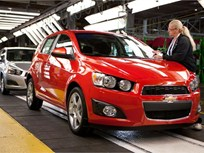 2012 Chevrolet Sonic With 1.4L Turbo Gets 40 MPG on Highway