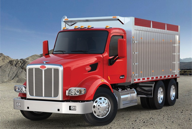Peterbilt Motors Company's all-purpose vocational model 567.
