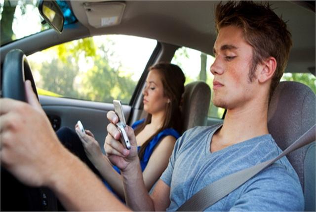 Legislation seeking to ban driver texting is now under consideration in Nebraska. Photo: AAA.