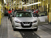 Nissan Begins Producing Redesigned Maxima Sedan