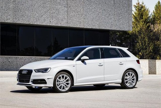 Photo of A3 Sportback TDI courtesy of Audi.