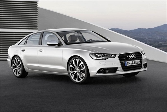 The Audi A6. Photo courtesy of Audi.