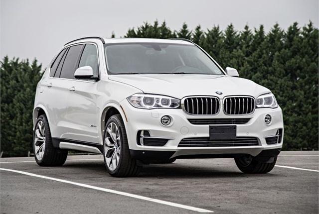 Photo of 2015 X5 courtesy of BMW.