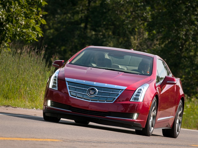 2014 Cadillac ELR electric luxury coupe. Photo credit: General Motors