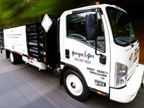 Bi-Fuel Propane Autogas Isuzu Cabover Shown