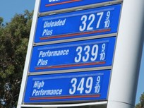 Gasoline Flat at $3.29 Per Gallon