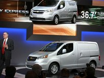 2015 City Express Cargo Van Publicly Unveiled