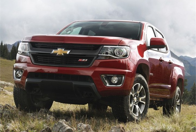 Photo of 2015 Colorado courtesy of GM.
