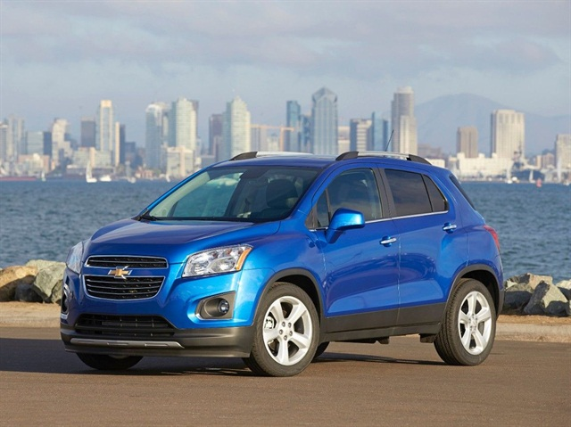 The 2015 Chevrolet Trax in LTZ trim: Photo via Chevrolet.