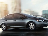 Honda Announces 2015 Civic CNG Pricing