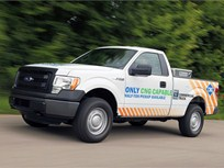 Ford F-150 Prepped to Run on CNG or LPG