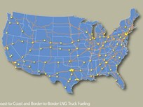Clean Energy Unveils America's Natural Gas Highway for Trucks