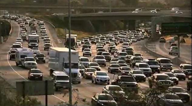 Congestion in California. Photo: U.S. Dept. of Transportation
