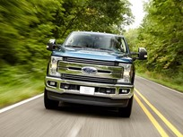 Ford F-250 Super Duty Crew Cab 4x2 Draws Top Safety Score