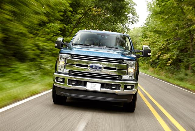 Photo of 2017 Ford F-250 Super Duty Crew Cab 4x2 courtesy of Ford.