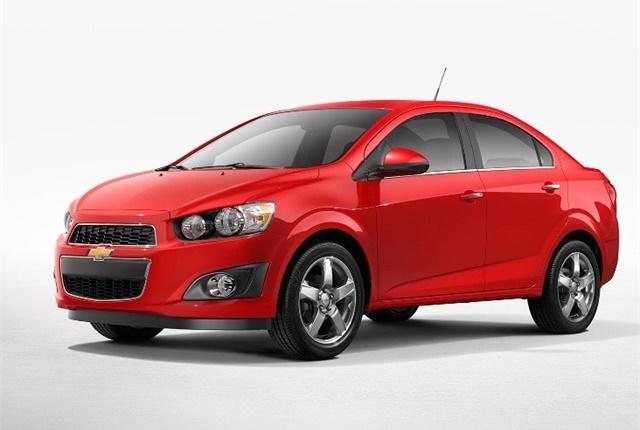 Photo of Chevrolet Sonic courtesy of GM.