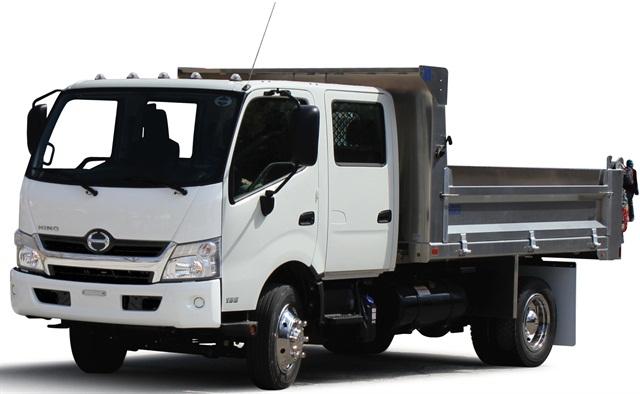 hino trucks puts new class 5 coe on display at ntea work truck show top news green fleet. Black Bedroom Furniture Sets. Home Design Ideas
