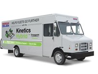 Morgan Olson Offers Kinetics Hybrid Walk-In Vans