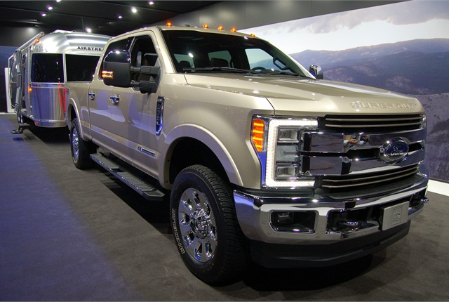 Photo of 2017 Ford Super Duty F-350 King Ranch by Amy Hercher.