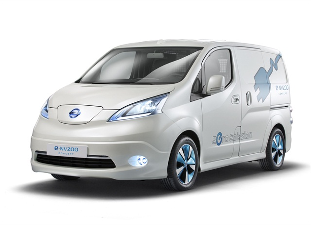 Nissan's e-NV200 all-electric compact van.