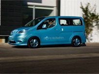 Nissan Unveils Electric NV200 Commercial Van Concept in Detroit