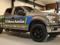 Alliance AutoGas F-150 Prepares for Coast-to-Coast Trip