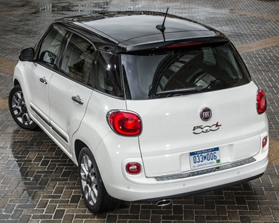 The all-new 2014-MY Fiat 500L is available in four trim levels.