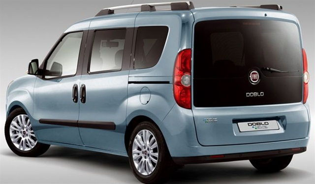 The Ram ProMaster City will bring familiar Ram Truck styling cues to the Fiat Doblo. Photo via Fiat.