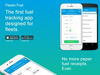 Fleetio Introduces Mobile Fuel Tracking App