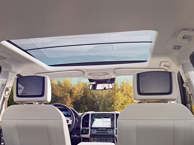 Photo of 2018 Expedition's interior courtesy of Ford.