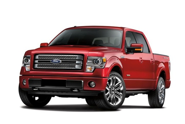 Photo of 2013 F-150 Limited courtesy of Ford.