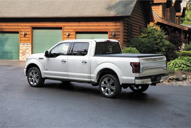 Photo of Ford F-150 courtesy of Ford.