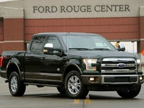 First Aluminum F-150 Rolls off Assembly Line