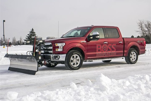 ford f 150 with plow prep option arrives top news. Black Bedroom Furniture Sets. Home Design Ideas