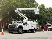 Ford Boosts Diesel Super Duty Chassis Cabs