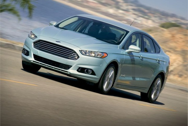 Photo of Fusion Hybrid courtesy of Ford.