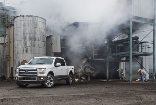 Photo of 2015 F-150 King Range courtesy of Ford.