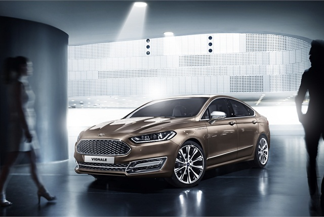 The Ford Mondeo Vignale Concept. Photo courtesy Ford.
