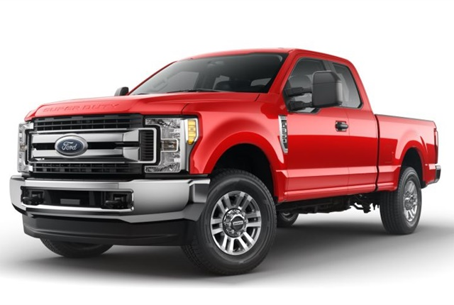 Photo of 2017 F-350 STX courtesy of Ford.