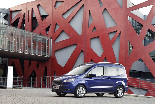 The Ford Tourneo Courier. Photo courtesy Ford.